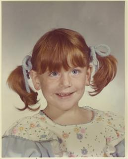 Mechelle (as a kid!)